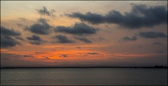 Last of Sunset Cloud over Bramble Bay-1= (Sheba_Also 11.5 Millon Views) Tags: last sunset cloud over bramble bay