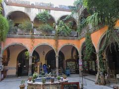 Patio Relox, San Miguel de Allende, Mexico (Paul McClure DC) Tags: sanmigueldeallende mexico bajo guanajuato nov2016 historic architecture