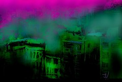 "IMG_20161206_123320 (""Jimmer"" ( http://jim-vance.pixels.com )) Tags: abstract city cityscape surreal"