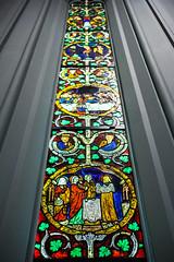 Grew Up With Nothing (Jeremy Brooks) Tags: usa newyork window museum manhattan stainedglass metropolitanmuseumofart newyorkcounty