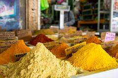 Especias en el bazar de Kuching (Carlos Gaiteiro) Tags: market spice mercado sarawak malaysia kuching malasia especias