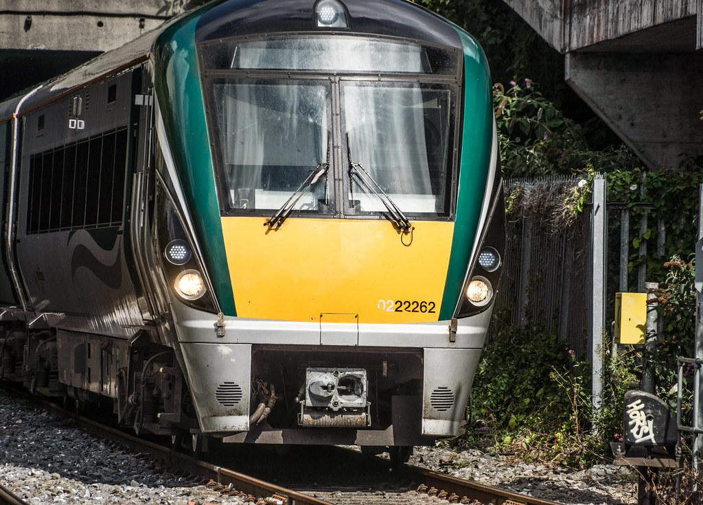 THE MINISTER PLUS PLATFORM 10 AND THE PHOENIX PARK RAILWAY TUNNEL [NOT FORGETTING IRISH RAIL STAFF] REF-107144