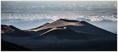 caressing light (i.v.a.n.k.a) Tags: sky clouds landscape island lights volcano hawaii big shadows sony crater alpha mauna kea ivana hesova