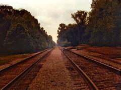 Southern RR hdr v1 (southernangel9) Tags: railroad travel usa art nature train outdoors industrial ar south traintracks scenic transportation hdr digitalphotography railroadtracks walldecor norphletar