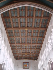Nave Ceiling, Nuneaton (Aidan McRae Thomson) Tags: roof church interior medieval ceiling warwickshire nuneaton