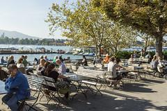 Zest Of Zurich (wonderful communications) Tags: summer switzerland sommer zrich easygoing zrichsee lakezrich pumpstation lockerertag