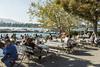 Zest Of Zurich (wonderful communications) Tags: summer switzerland sommer zürich easygoing zürichsee lakezürich pumpstation lockerertag