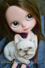 just realized I never posted this photo of Pea (French Bulldog Works) Tags: friends portrait sculpture dog pet cute art love girl puppy french toy hug friend doll little sweet bulldog best lap figure cuddle frenchie bjd blythe figurine bully dasha doggie francais batdog smooshyface flatface bouledogue goux batpig