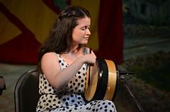 Bernadette Flanagan drums