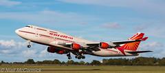 VT-ESO Air India Boeing 747-437 (Niall McCormick) Tags: dublin india airport aircraft air boeing airliner eidw 747437 vteso airindiaone
