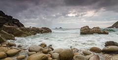 Porth Nanven, Cornwall (Kerrlee1) Tags: sea coast cornwall seascapes pebbles porthnanven