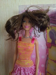 Ella (Just a Nobody) Tags: doll bald barbie ella fashiondoll mattel firend