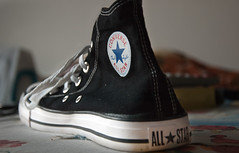 Converse Chuck Taylor All-Stars High Black (ZeissMarit) Tags: usa sneakers nike converse allstar chucktaylor madeinusa keds sportshoes highchucks