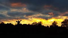 Sunset over Holgate.  York.