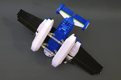 SX-82 Daphnia - bottom (Sylon-tw) Tags: sky plane airplane lego aircraft air seaplane aeroboat moc skyfi daphnia sylon sylontw