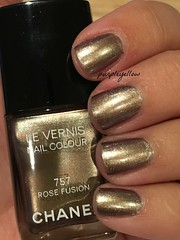 Chanel Rose Fusion (purple yellow) Tags: rose nail polish fusion chanel 757
