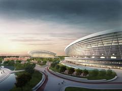 Проект спорткомплекса SIP в Китае