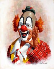Happy Clown by Arthur Sarnoff