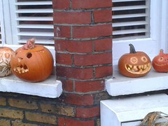 Halloween pumpkins (eltpics) Tags: art halloween face scary jackolantern pumpkins creative craft carving horror eltpics