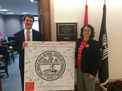 Urging Senators to support America's Clean Power Plan