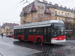 Budapest 602 Erzebet Kiralyne (Guy Arab UF) Tags: bus buses hungary budapest solaris trolleybus 602 ganz erzebet kiralyne trolibusz trollino