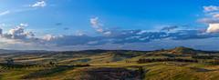 Arboretum Panorama (joshmitterfellner) Tags: trees sky panorama landscape arboretum hills canberra