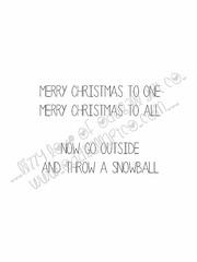 Snowball Fight! #8INSIDEWM (Lizzy Love ♥ Oddball Art Co.) Tags: santa christmas cute eye art love reindeer cards big holidays paintings hats creepy antlers elf fox kawaii greeting bats lizzy 2015 oddballart