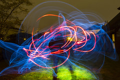 Fizzy (john.purvis) Tags: lightpainting elwire limavady electroluminescentwire canon6d samyang24mmf14
