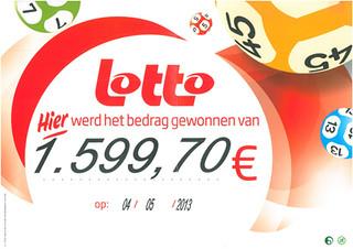 Lotto - €1.599,70