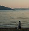 sunset waters (rafartreides2017) Tags: turkey fisherman göcek clichésaturday