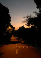20120104 Neighbour walk (zumakuma) Tags: street sky evening singapore dusk eveningwalk wak blipfoto