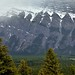 Snow on the Upper Peaks of Mount Rundle (Banff National Park)