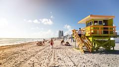 Miami Beach (Stahlinho) Tags: sea usa beach strand meer florida miami baywatch 6d