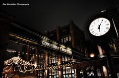christmas market at the distillery district toronto (Rex Montalban Photography) Tags: christmas toronto distillerydistrict market rexmontalbanphotography