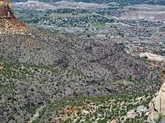 Black Canyon Formation (Paleoproterozoic, 1.759 Ga; Cold Shivers Point, Columbus Canyon, Colorado National Monument, Colorado, USA) 6 (James St. John) Tags: columbus black cold monument rock point colorado rocks plateau canyon formation national shivers schist precambrian metamorphic gneiss paleoproterozoic proterozoic