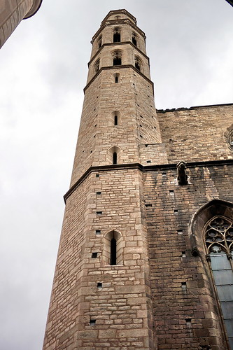 Santa Maria del Mar belltower