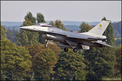 F-16AM Fighting Falcon arrival (Pavel Vanka) Tags: ciaf czechinternationalairfest lkhk hradeckralove czech czechrepublic airplane plane aircraft airshow spotting spot spotter landing generaldynamics f16 f16am belgiumairforce belgianairforce fighter fightingfalcon viper
