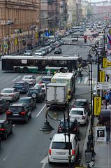 Busy road (Urban_Mikhail) Tags: russia saint petersburg saintpetersburg road busy rushhour