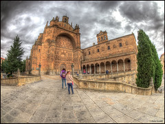 (2360) Salamanca (QuimG) Tags: salamanca spain xtrmhdr church golden architecture landscape paisatge paisaje olympus afcastell specialtouch obresdart quimg quimgranell joaquimgranell