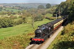 20111001   63395 (paulbrankin775) Tags: 63395 q6 north yorksh moors railway lner ner yorkshire green end grosmont steam train smoke