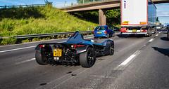 BAC Mono (William Hook) Tags: bac mono bacmono mx61hso track car race m6 motorway traffic supercar