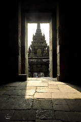 From the archway (A. Wee) Tags: yogyakarta prambanan indonesia  unesco world heritage