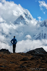 Climbing Nepal 2011 (Tony Hodson | www.tonyhodson.com) Tags: nepal outdoor outdoors climbing expedition mountains mountaineering blue lake sherpa travel wanderlust adventure altitude summit d7100 nikon new kathmandu khumbu clouds