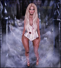 # Look 472 News from Black Haus @ Bloody Horror Fair (Mɪss Dɪᴀᴢ) Tags: black haus bloody horror fair halloween exile catwa arise second life sl fashion