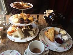 Afternoon Tea at The Dandelion (htomren) Tags: phonepics staycation staycation2016 dandelionpub tea food