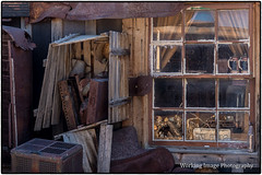 Goldpoint Saloon (Working Image Photography) Tags: saloon nevada frontporch junk rust window ghosttown decay
