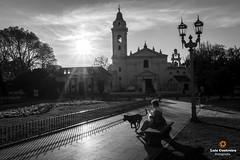 Street (Luiz Contreira) Tags: church dog street streetphotography buenosaires argentina southamerica amricadosul fotgrafosbrasileiros fotografiaderua cachorro blackwhite bw pretoebranco pb sony a6000