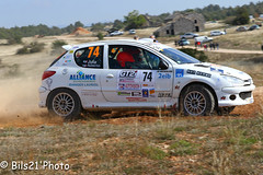 IMG_9155.jpg (Bils21) Tags: juliadavid es1lecamp peugeot206rc 74 rallyeterredescardabellesmillauaveyron2016 lacavalerie languedocroussillonmidipyrn france languedocroussillonmidipyrnes fr