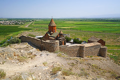Khor Virap view from the hill, Armenia (Andrey Sulitskiy) Tags: armenia khorvirap