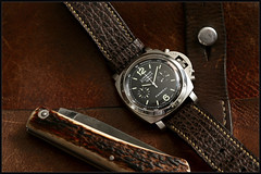 1C5A2923 (bakelite1) Tags: officine panerai luminor chrono flyback pam212 protge couronne automatique saphir bomb